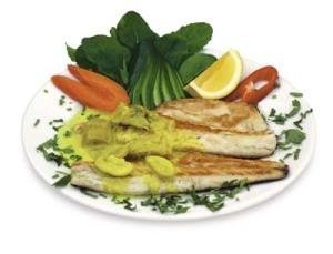 pescado cocinado, pescado