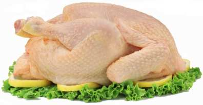 Pollo fresco, pollo