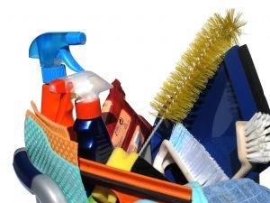 ¿Cuántos productos de limpieza usas?